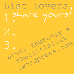 LIST LOVERS