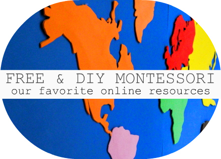 Project Make A Montessori Continent Map The Little List - Free continent maps